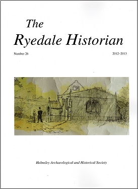 Click for the Contents of Ryedale Historian No 26